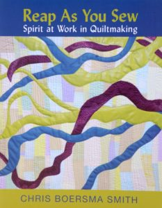 Reap As You Sew book for spiritual quilters